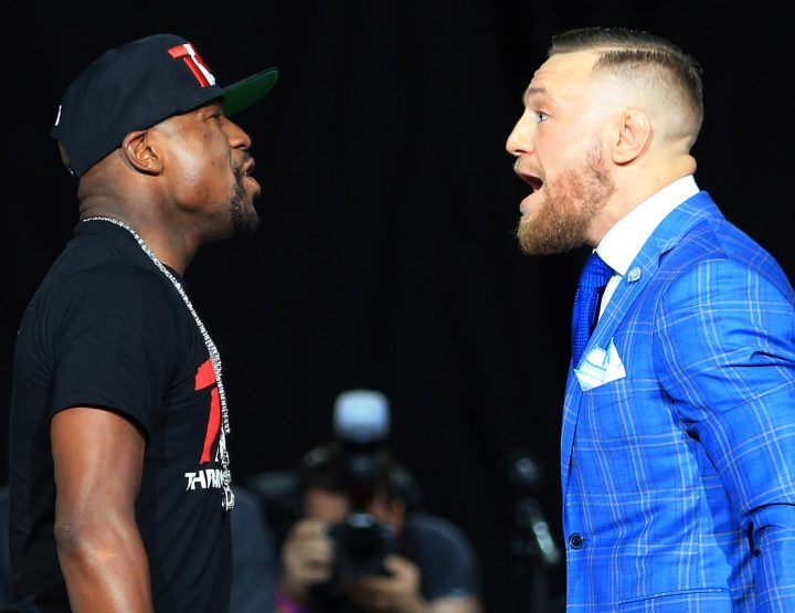Floyd Mayweather vs Connor McGregor Press Tour