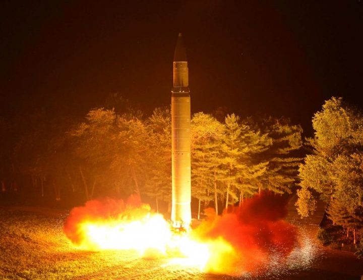 Testy Words from President as North Korea Test Missile Program