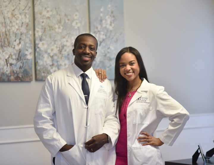 Drs. Theodore Nyame & Sandy Charles