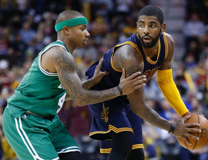 Kyrie Irving Traded to Boston Celtics